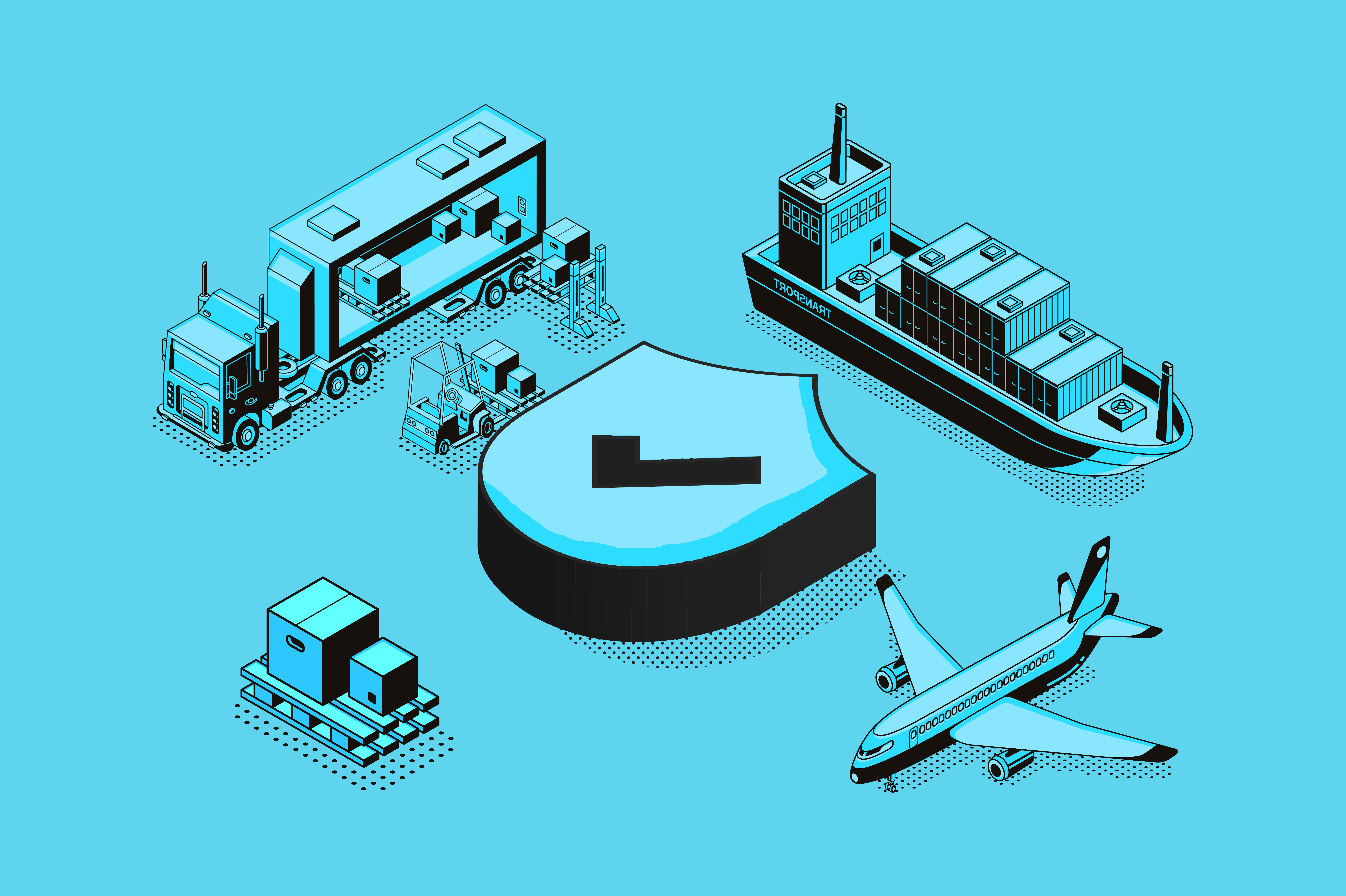 Enhancing Security in Freight Forwarding
