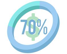 70-cost-saving